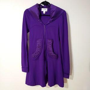 Joseph Ribkoff Long Sleeve Jacket Hoodie Size 4